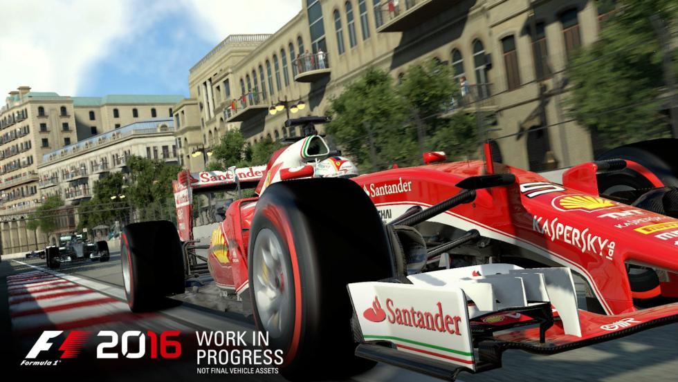 Videojuego F1 2016