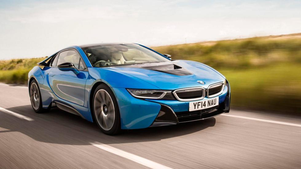 10. BMW i8. De 0 a 100 km/h en 4,4 segundos
