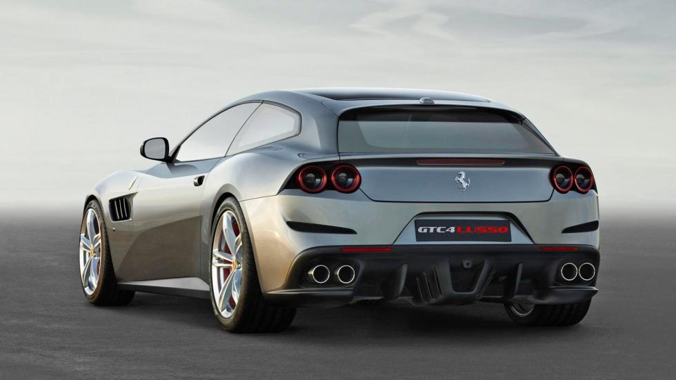 4. Ferrari GTC4Lusso. De 0 a 100 km/h en 3,4 segundos