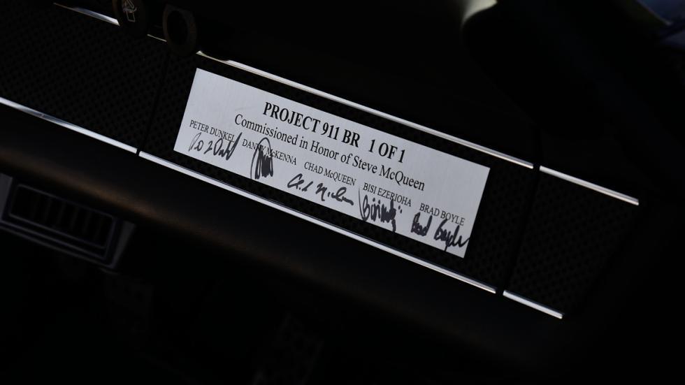 Porsche Bisimoto 911BR placa