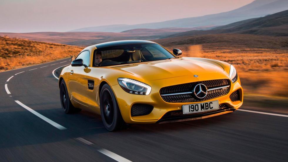 7. Mercedes AMG GT S. De 0 a 100 km/h en 3,8 segundos