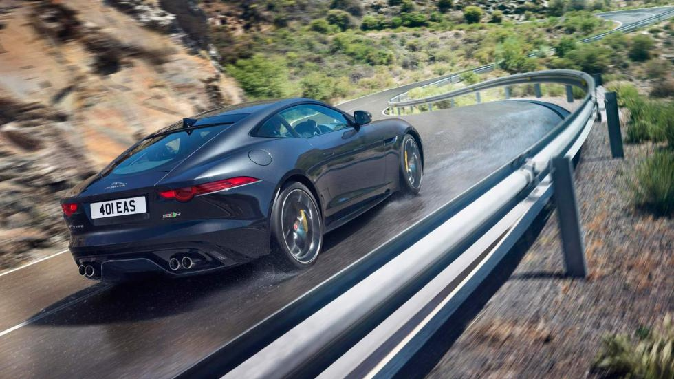 8. Jaguar F-Type R Coupé AWD. De 0 a 100 km/h en 4,1 segundos