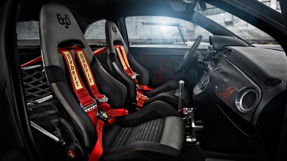 Abarth Biposto interior