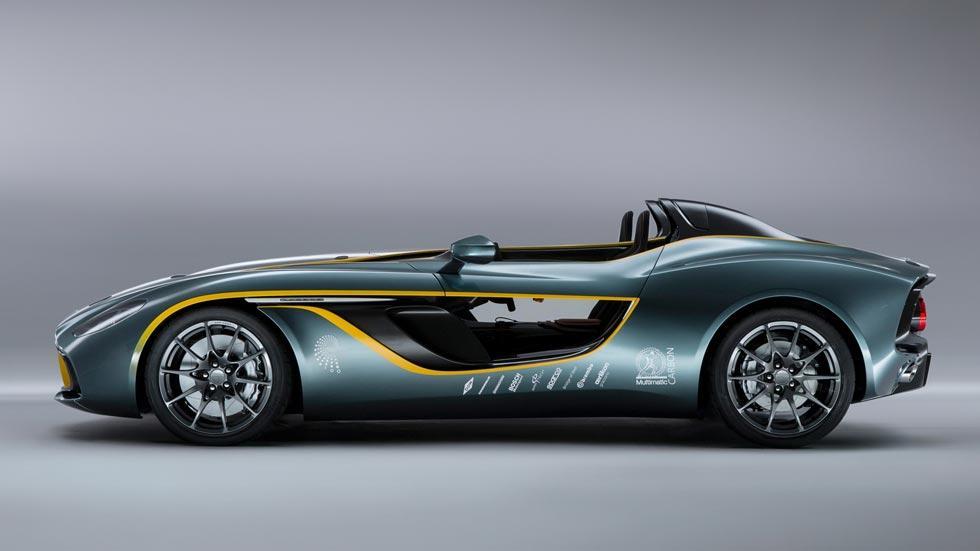 Aston Martin CC100 Speedster lateral concept