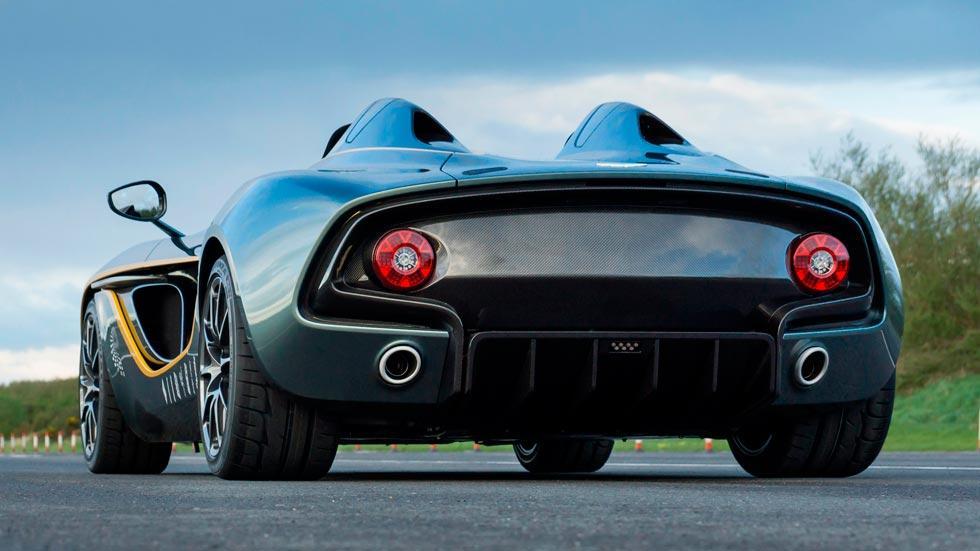 Aston Martin CC100 Speedster trasera concept