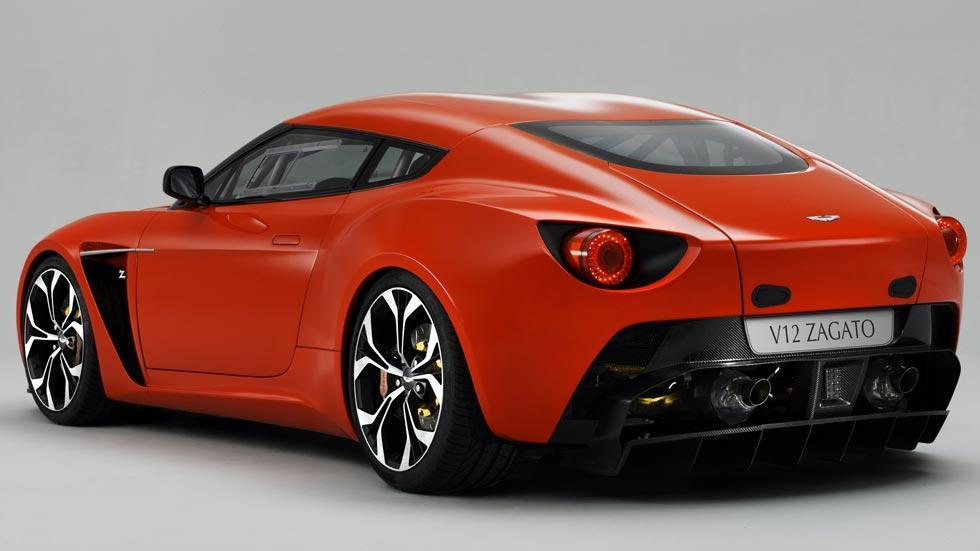 Aston Martin V12 Zagato trasera concept