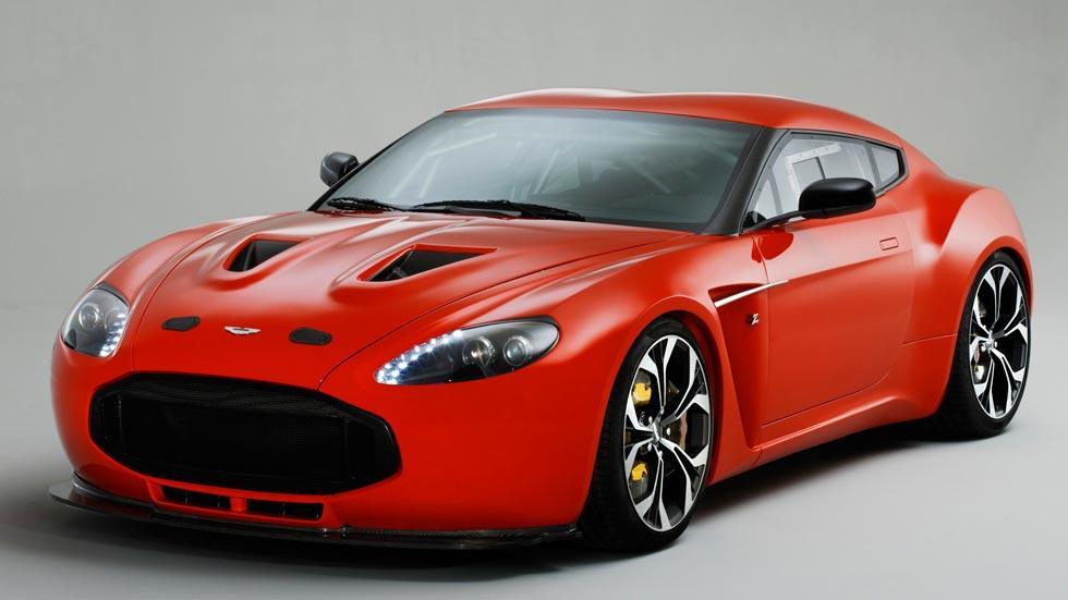Aston Martin V12 Zagato rojo concept prototipo