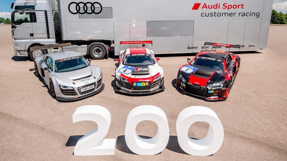 Audi R8 LMS 200 produccion competicion