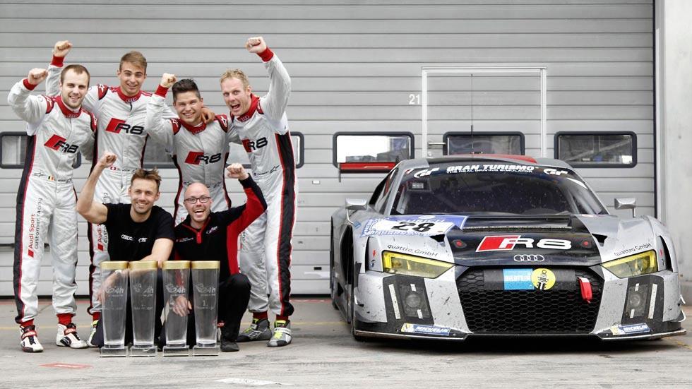 Audi R8 LMS campeón motorsport triunfo