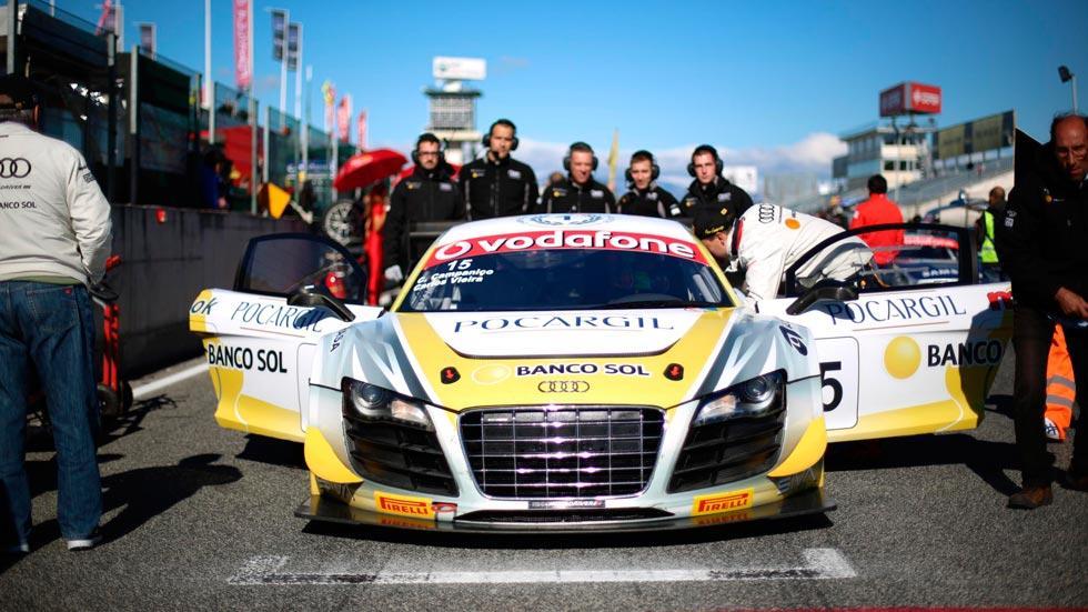 Audi R8 LMS frontal competicion motorsport