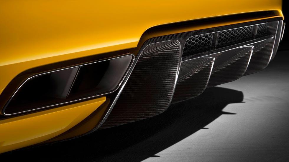 Audi R8 V10 Spyder difusor deportivo fibra carbono