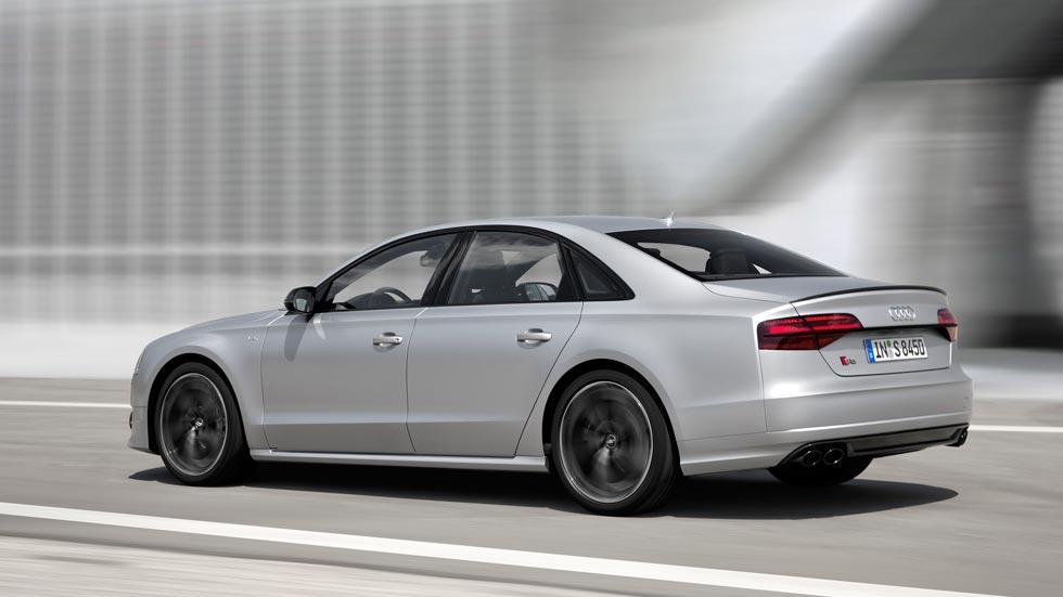 Audi S8 Plus trasera lujo deportivo