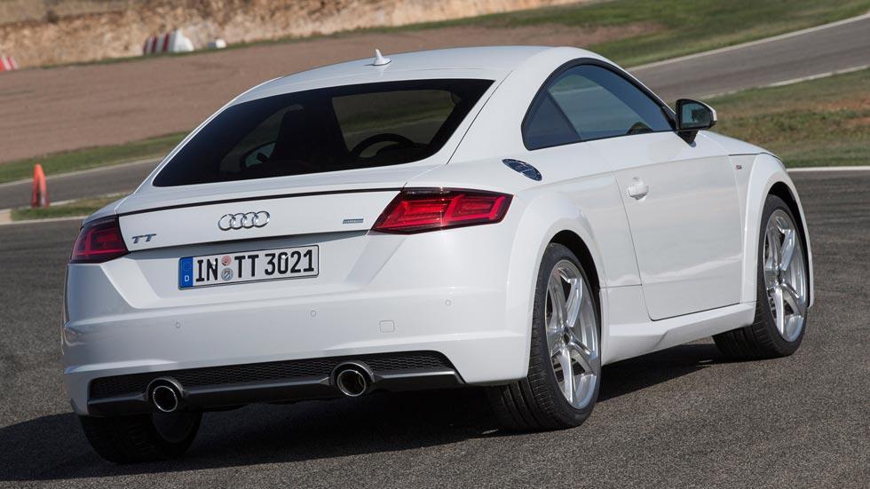 Audi TT tdi trasera escape