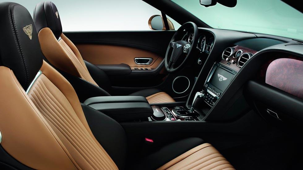 Bentley Continental GTC interior lujo
