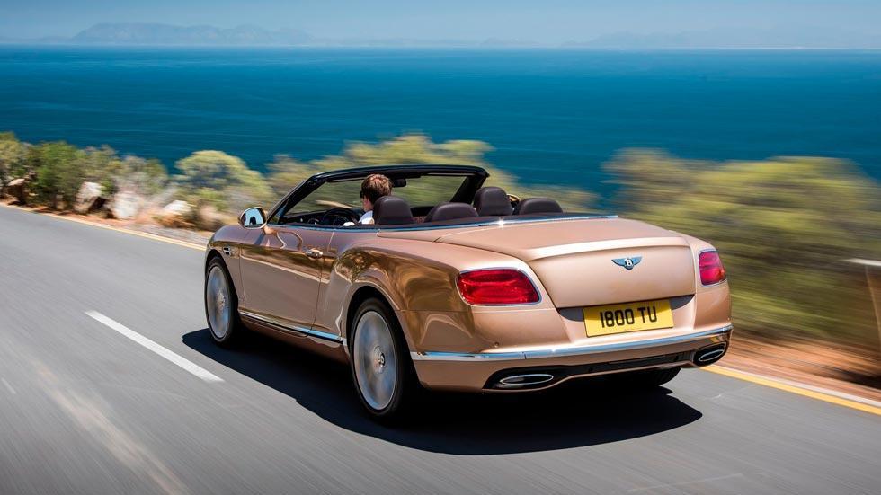 Bentley Continental GTC trasera lujo