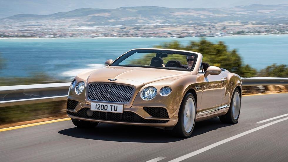 Bentley Continental GTC lujo descapotable