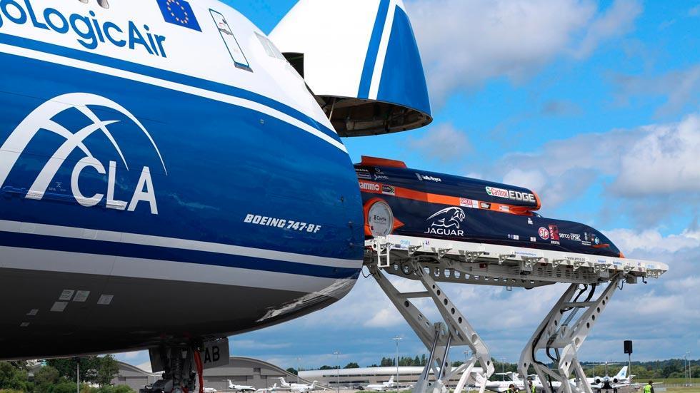 Bloodhound SSC 747 boeing cargo