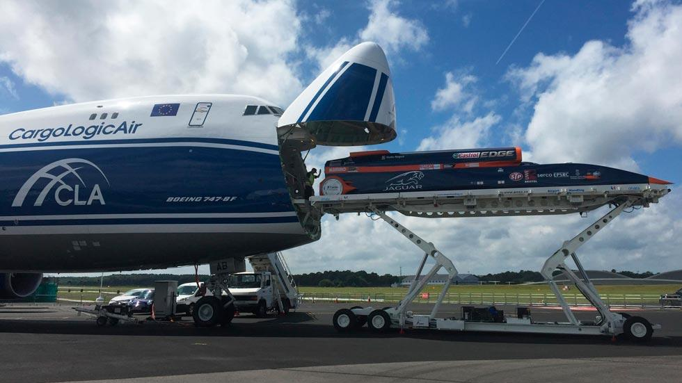 Bloodhound SSC 747 frontal cargo