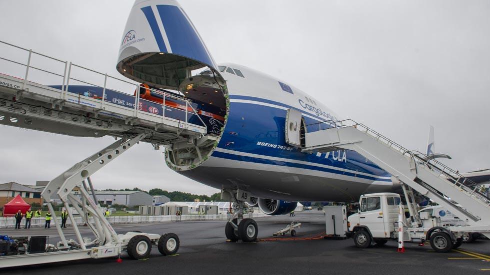 Bloodhound SSC boeing 747