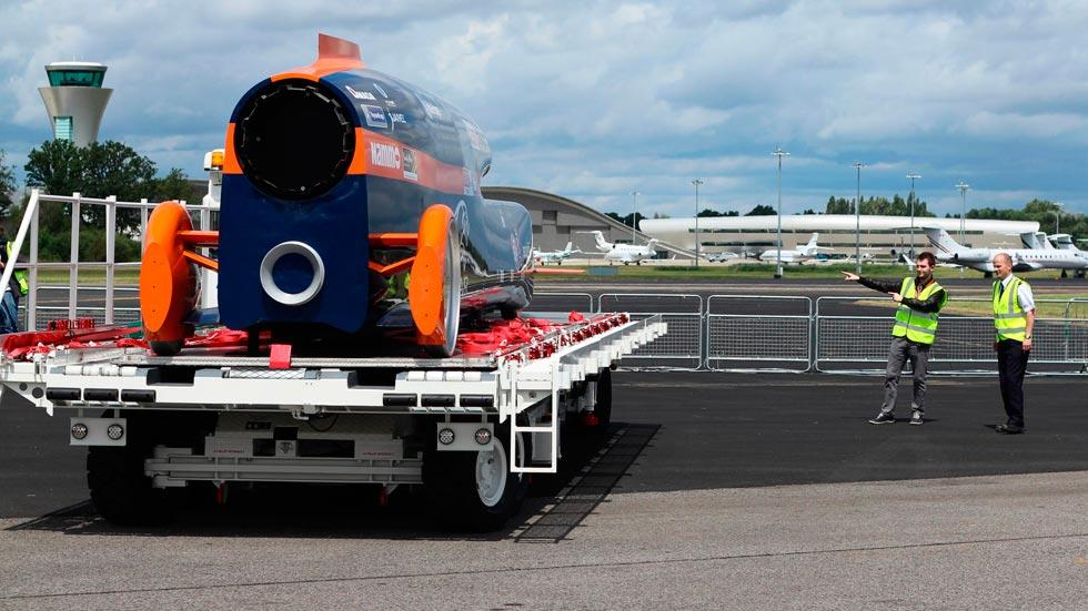 Bloodhound SSC trasera record velocidad