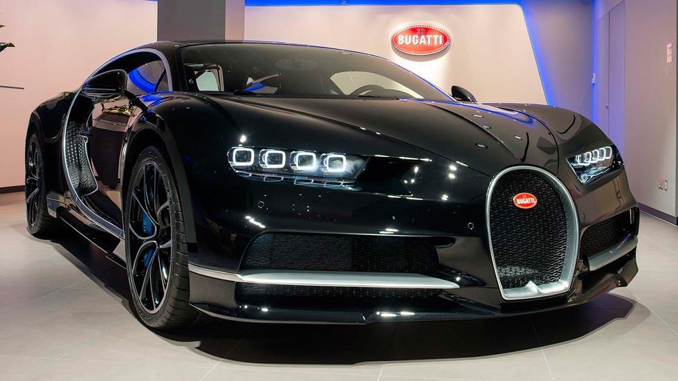 Bugatti Chiron Londres deportivo