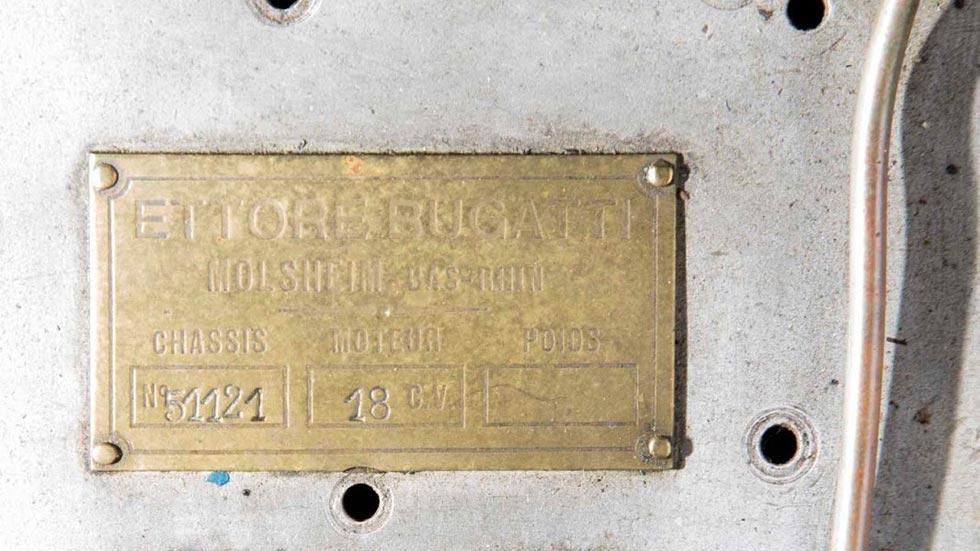 Bugatti Type 51 chasis 51121