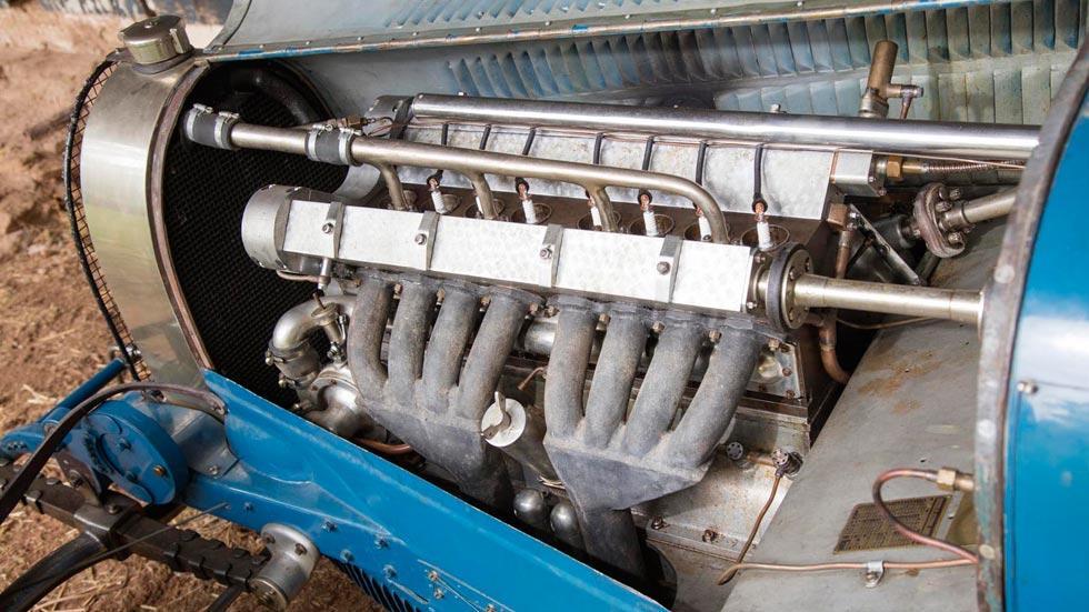 Bugatti Type 51 motor clásico