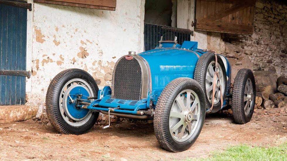 Bugatti Type 51 Nuvolari clásico deportivo