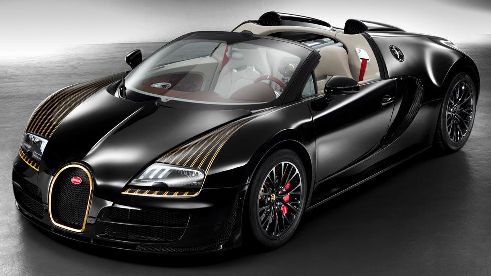 Bugatti Veyron black bess limitado legendes