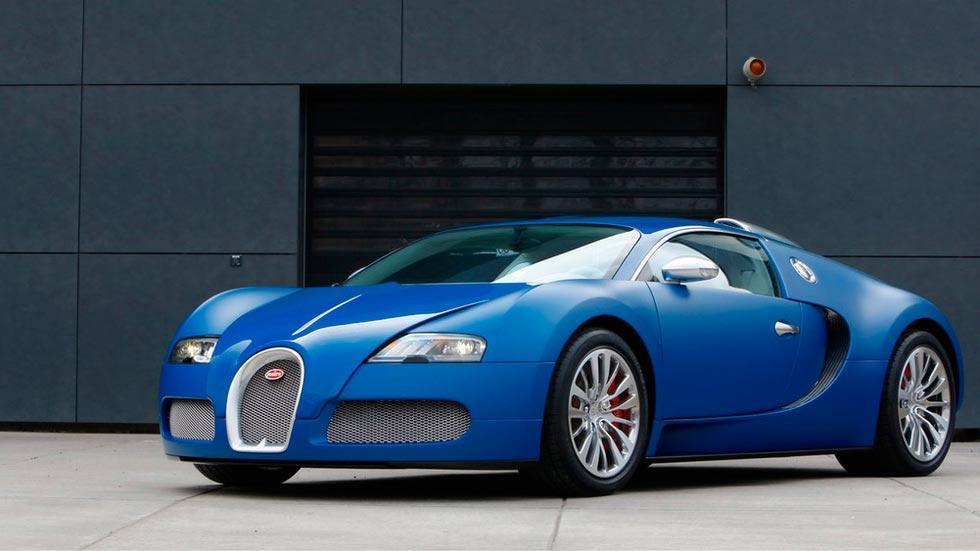 Bugatti Veyron Bleu Centenaire lujo deportivo limitado