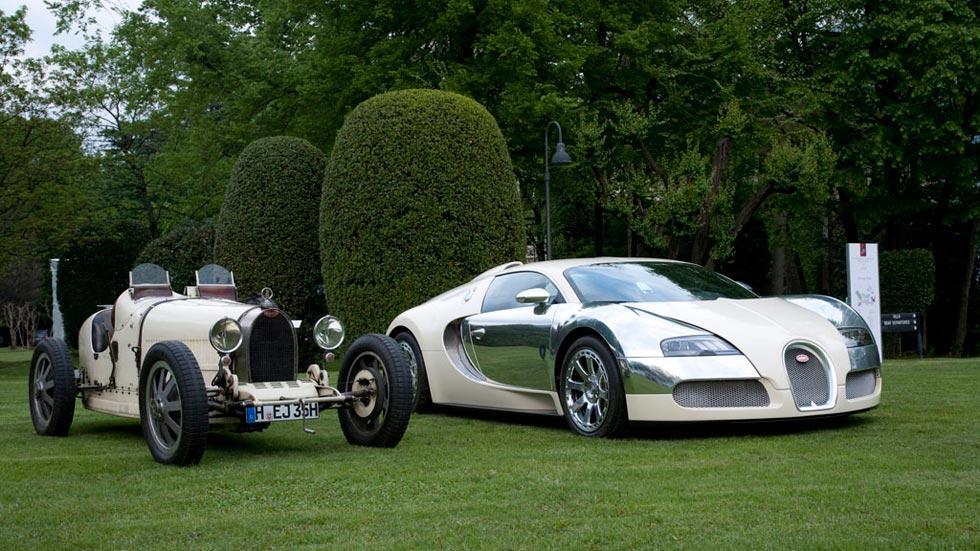 Bugatti Veyron Centenaire blanco clásico limitado