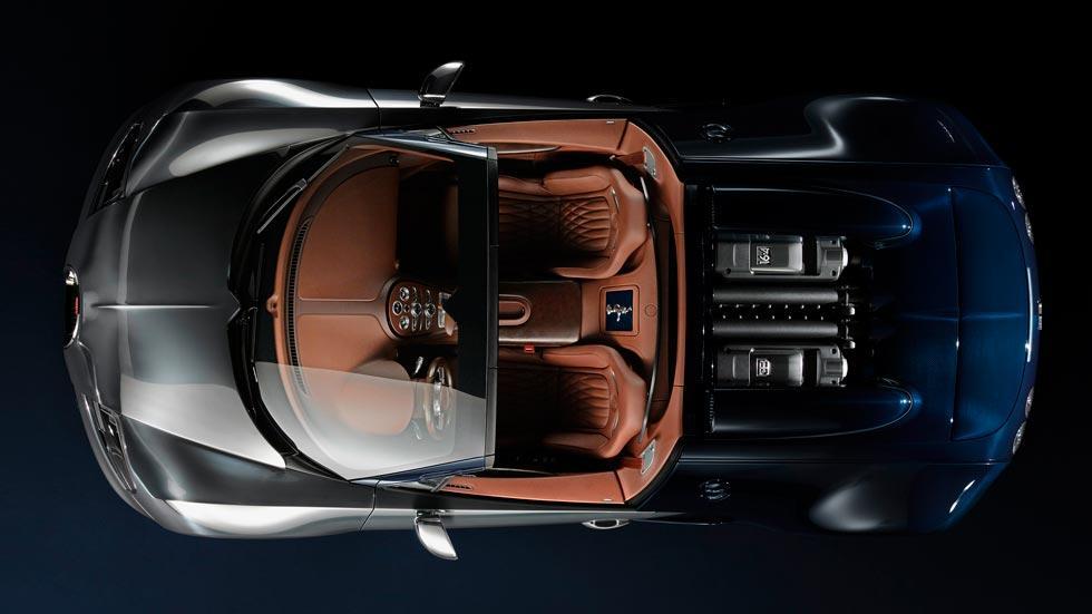 Bugatti Veyron Ettore Bugatti cenital interior lujo