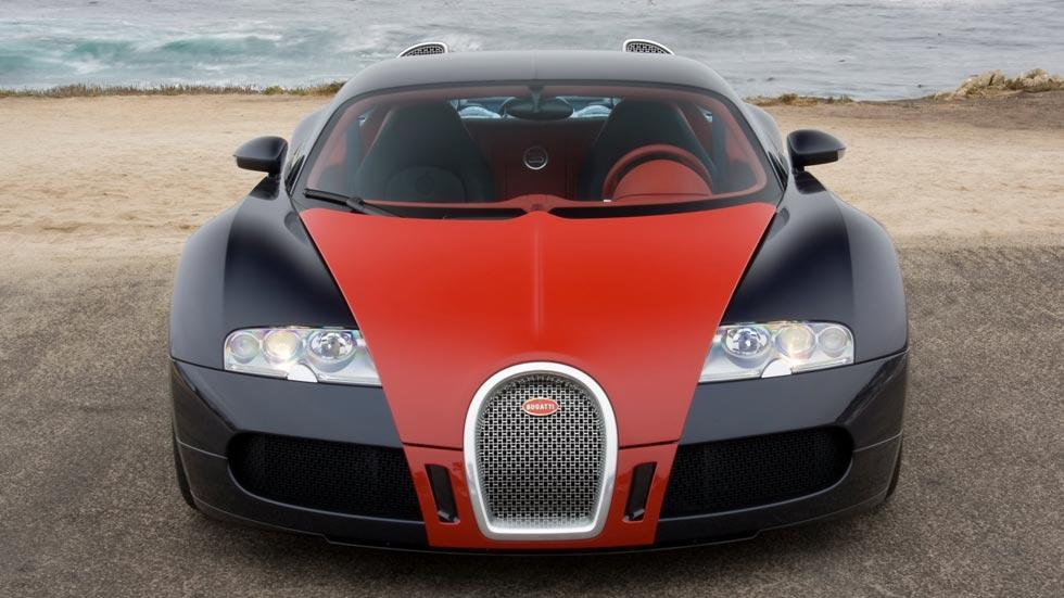 Bugatti Veyron fbg Hermes rojo limitado lujo