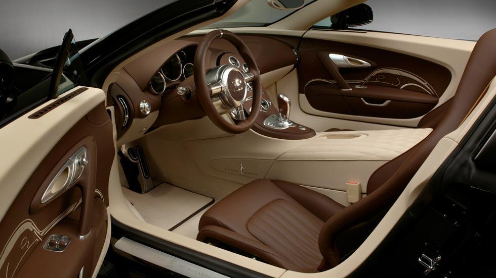 Bugatti Veyron Jean Bugatti interior lujo limitado