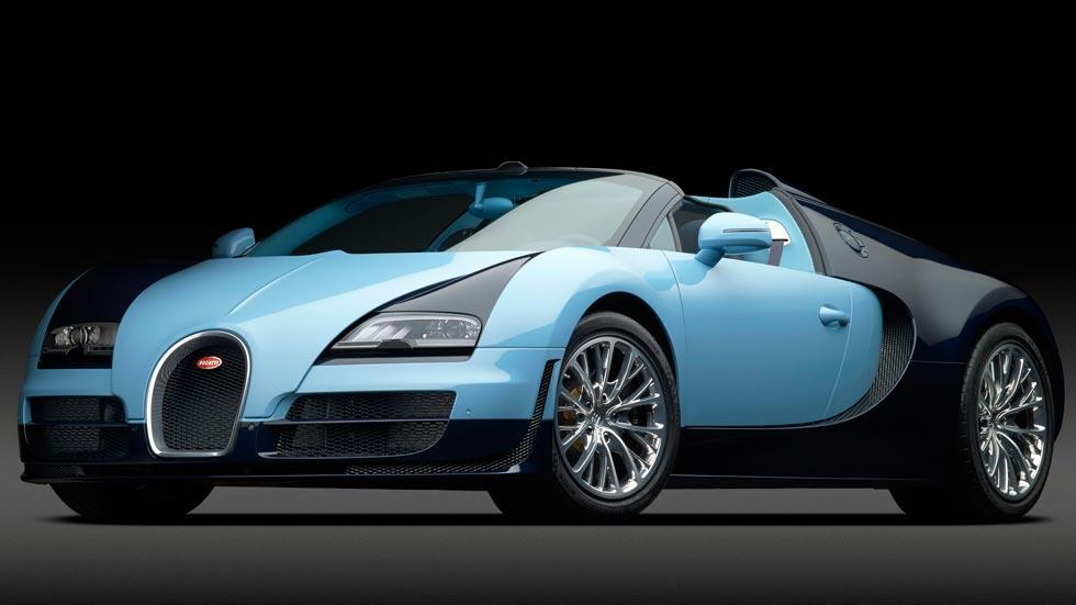 Bugatti Veyron JP Wimille legendes lujo azul