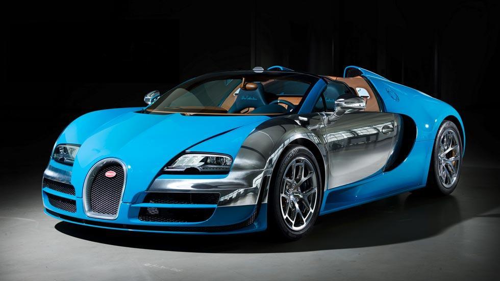 Bugatti Veyron Meo Constantini legendes azul cromado limitado