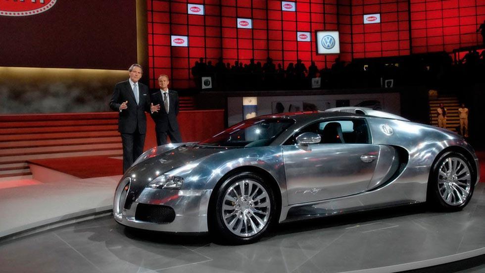 Bugatti Veyron Pur Sang cromado fibra carbono limitado