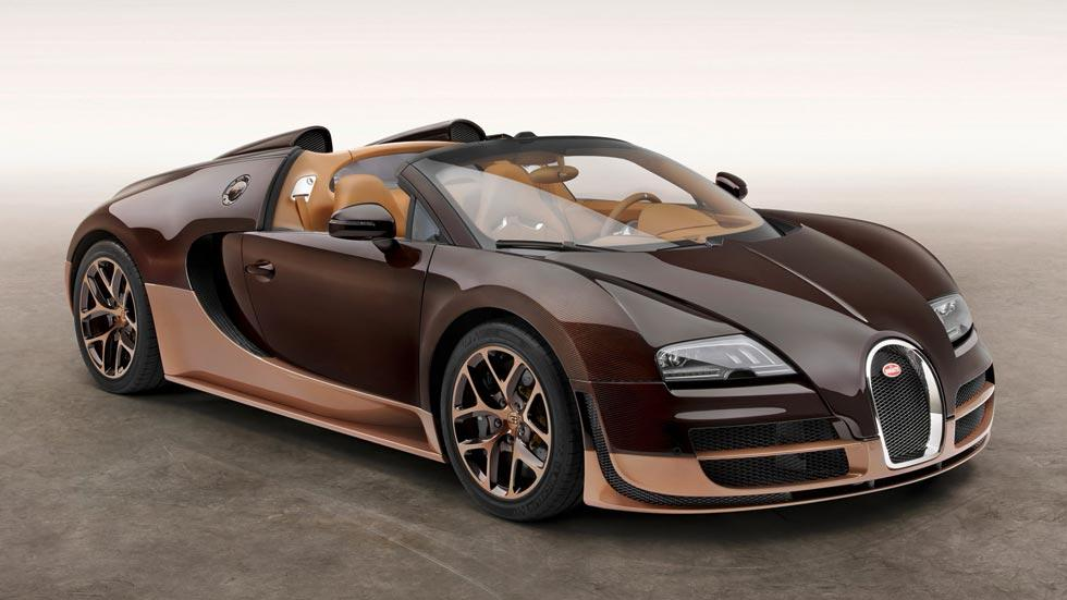Bugatti Veyron Rembrandt legendes lujo marron