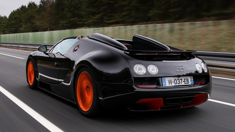 Bugatti Veyron Vitesse trasera wrc