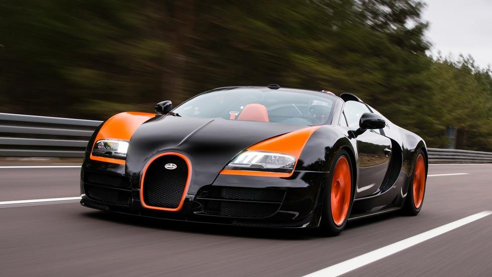 Bugatti Veyron Vitesse WRC naranja negro