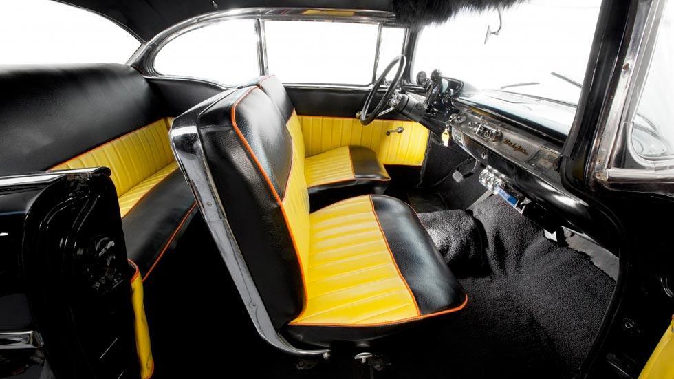 Chevrolet Bel Air Ringo Starr interior clasico beatles