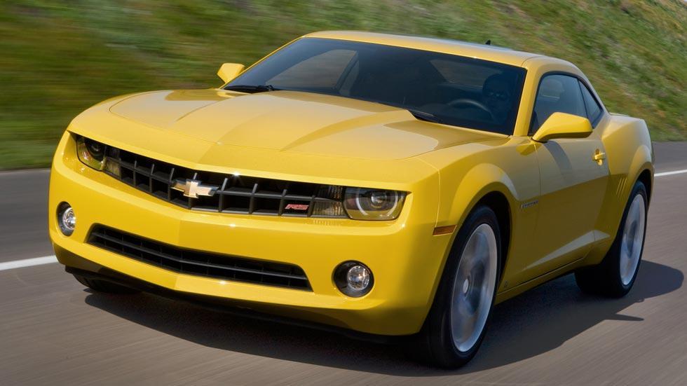 Chevrolet Camaro RS amarillo V6