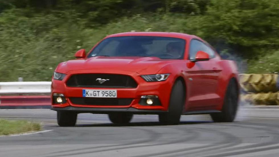 Chris Harris doma al nuevo Ford Mustang GT