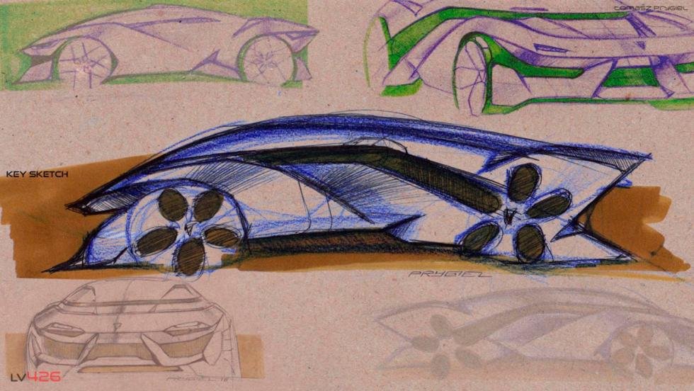 Concept Lamborghini Tomasz Prygiel (X)