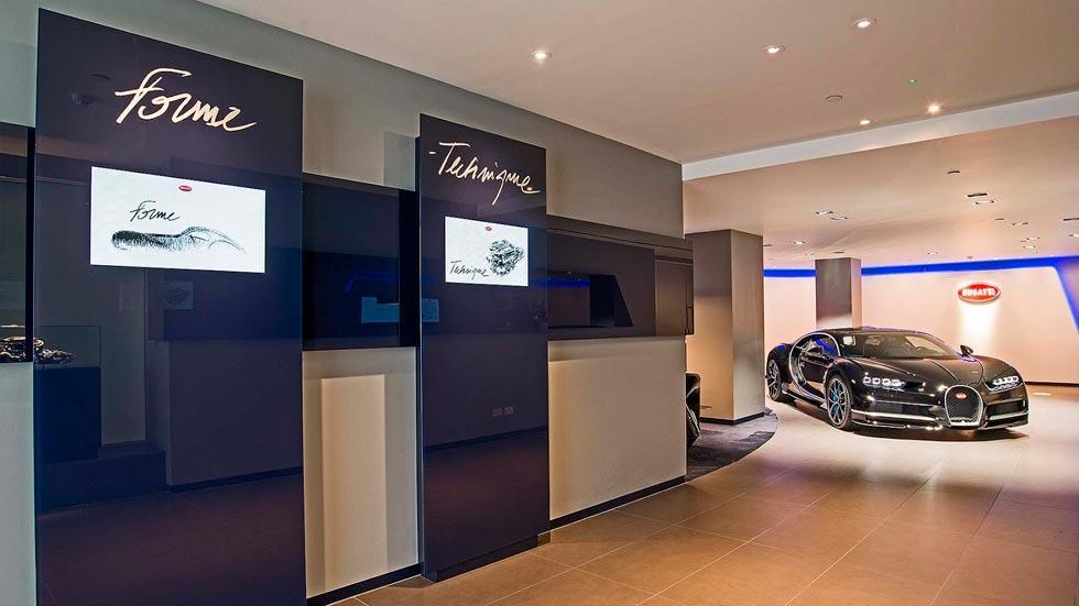 Concesionario Bugatti Londres Chiron