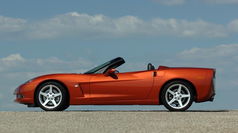 Corvette C6 cabrio lateral deportivo