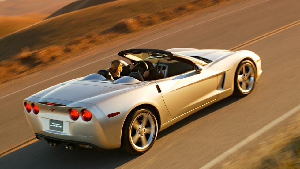 Corvette C6 cabrio descapotable trasera