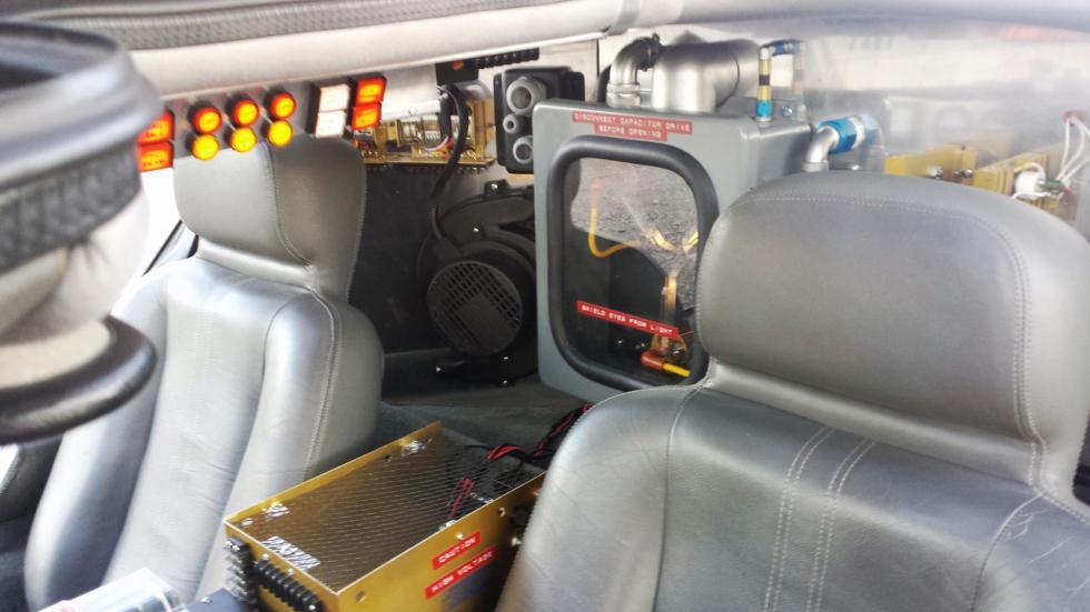 DeLorean DMC-12 - Regreso al Futuro