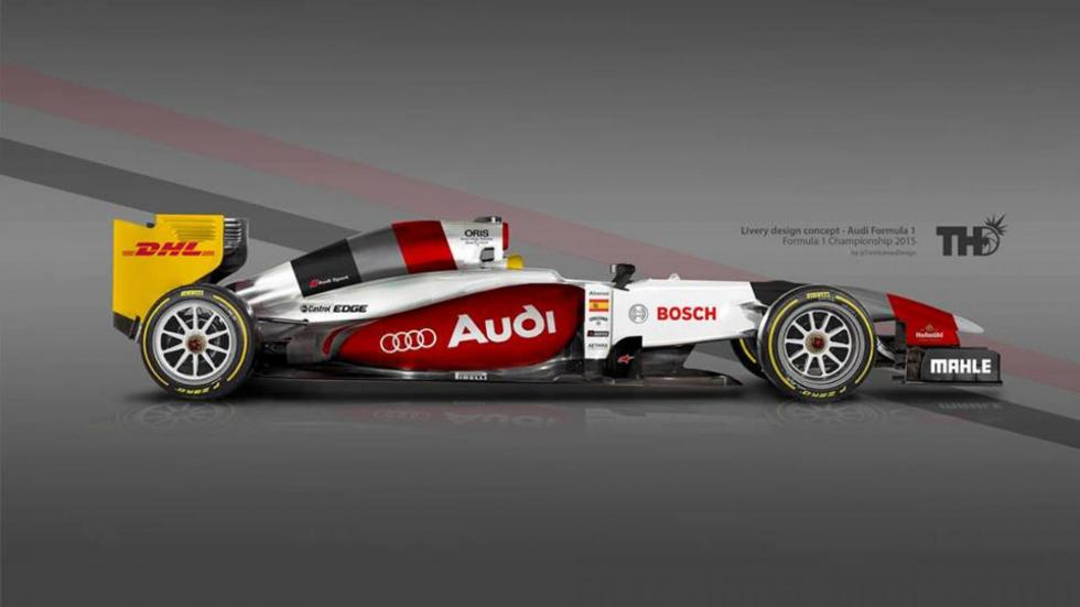 Los diseños de los F1 del futuro - Audi