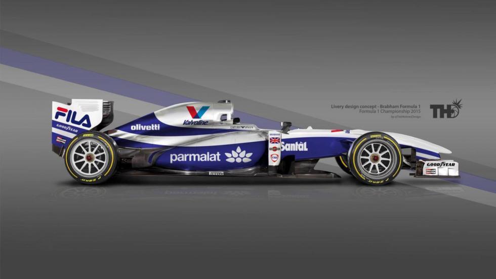 Los diseños de los F1 del futuro - Brabham